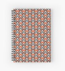 Endless Foxes! Spiral Notebook