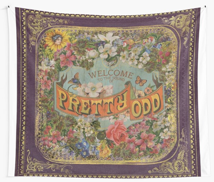 Quot Pretty Odd Quot Wall Tapestries By Victoriasmiles Redbubble