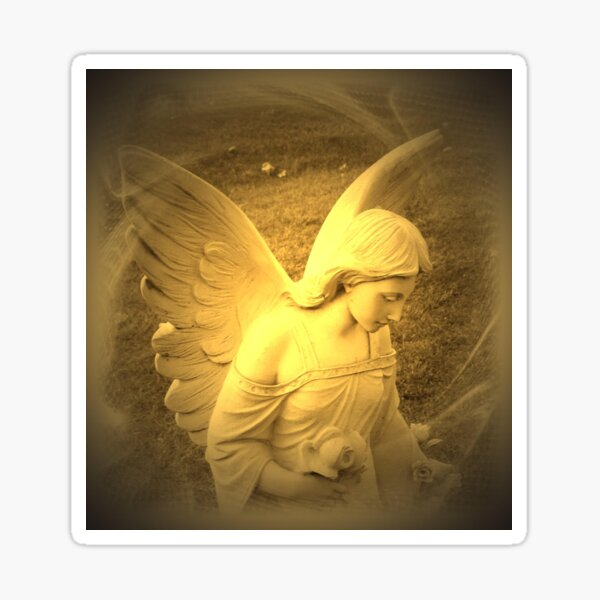 Angel Voices Say Sticker
