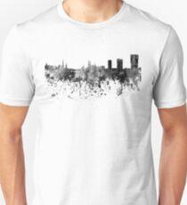 Zurich skyline in black watercolor Unisex T-Shirt