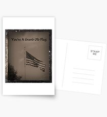 You're A Grand Old Flag Postcards