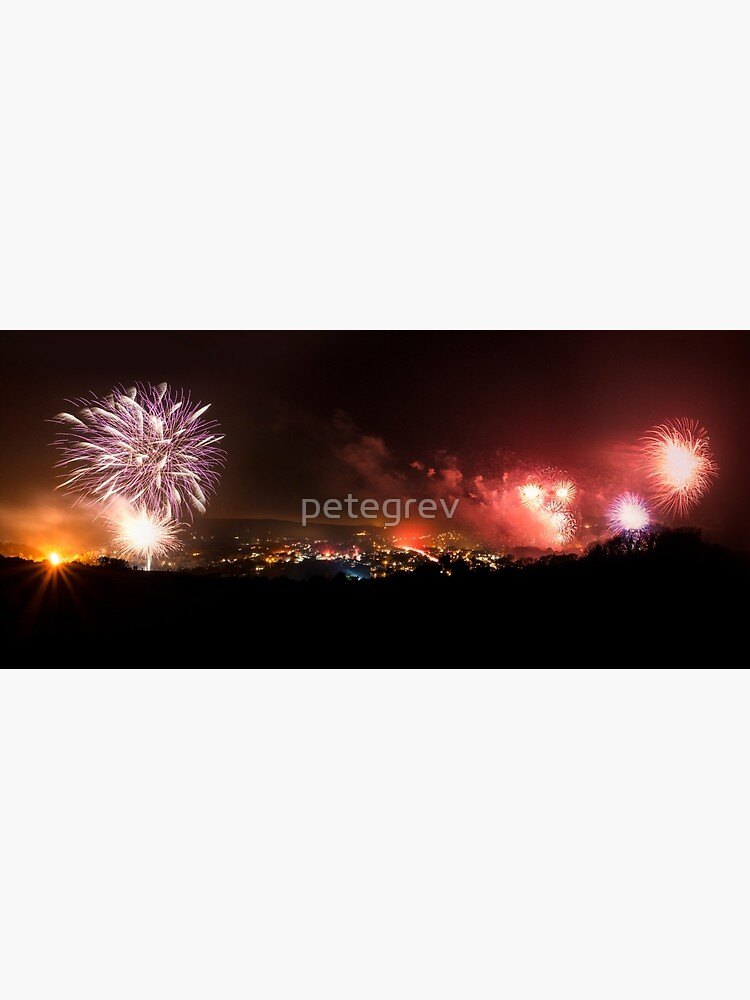Lewes Bonfire Panorama by petegrev