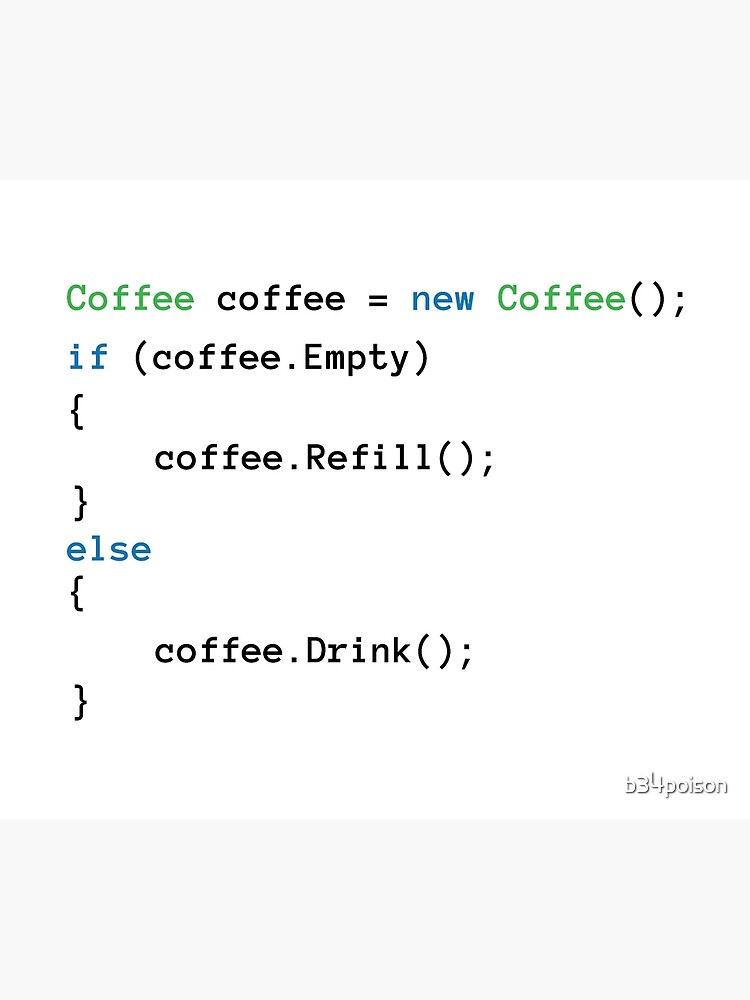 Coffee code by b34poison