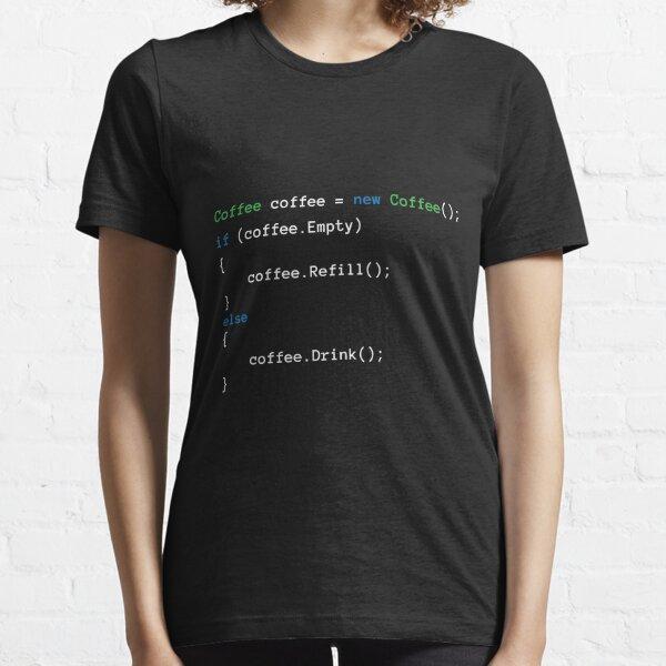 Código de café Camiseta esencial