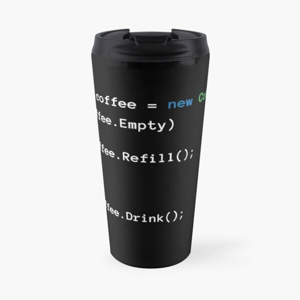 Coffee code Travel Mug