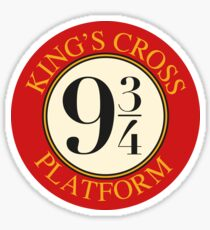 Platform 9 3/4 Sticker