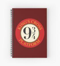 Platform 9 3/4 Spiral Notebook