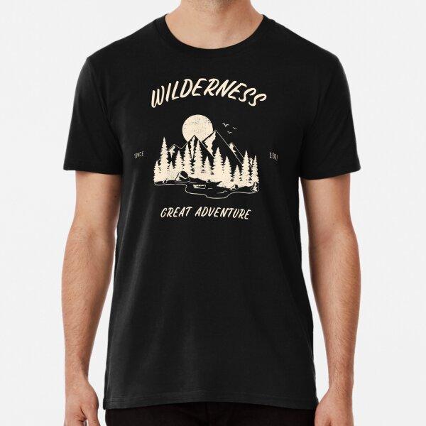Wilderness great adventure Premium T-Shirt