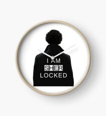 I am SHERlocked Clock