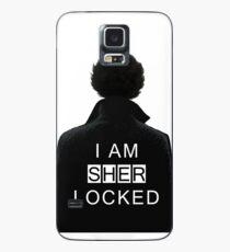 I am SHERlocked Case/Skin for Samsung Galaxy