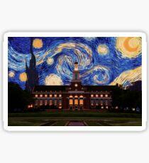Starry Night Oklahoma State Library Sticker
