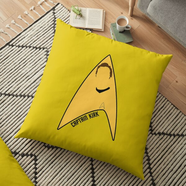 Captain Kirk Floor Pillow