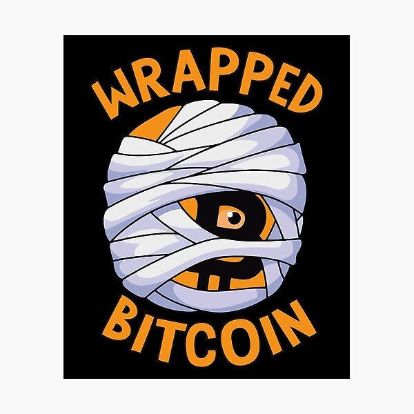Wrapped Bitcoin Photographic Print