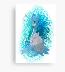 Pokemon Lapras Canvas Print