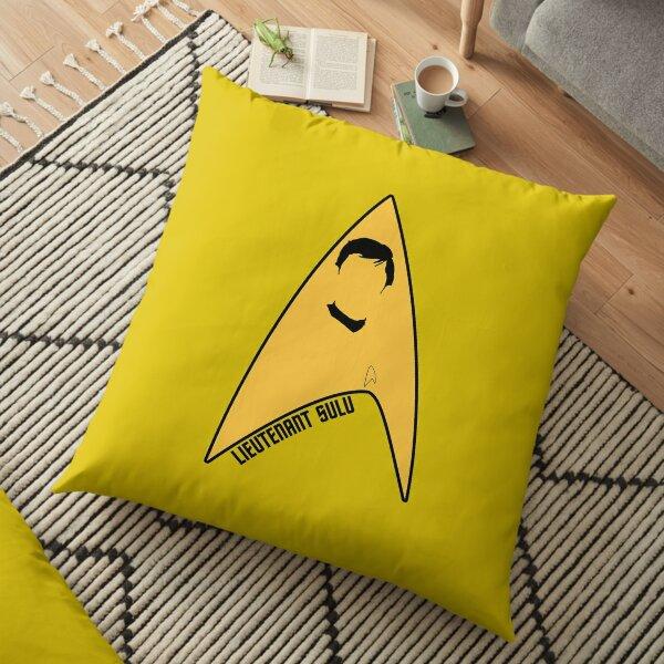 Lieutenant Sulu Floor Pillow