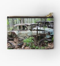October Old Motor Car Studio Pouch
