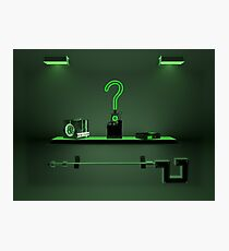 Riddler Collection  Photographic Print