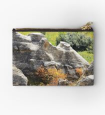 Autumn at Writing-on-Stone Studio Pouch