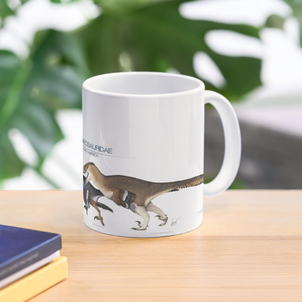 Dromaeosaurid Dinosaurs of north America Mug