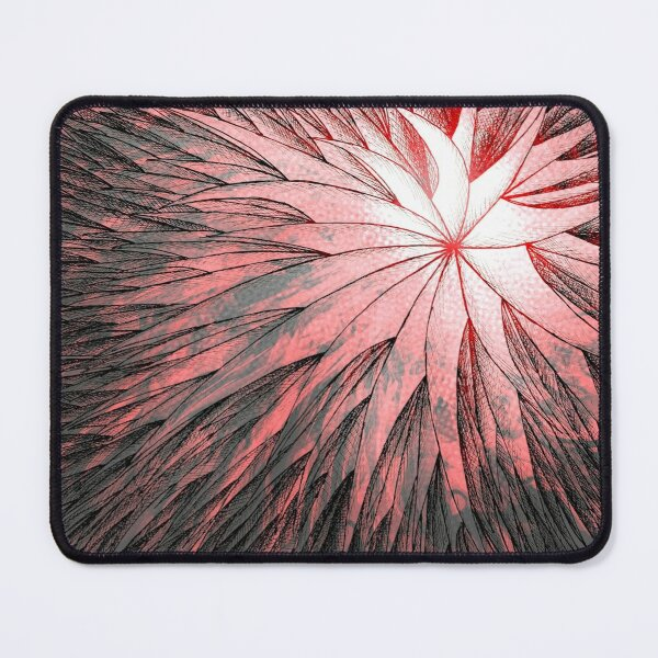 Abstract Flower2 Mouse Pad