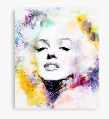 Marilyn Candle in the Wind Canvas Print