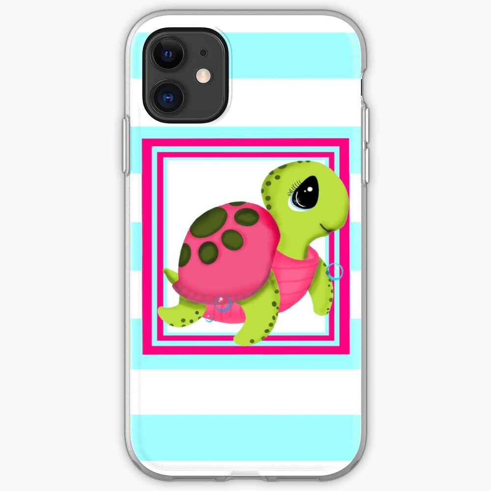 Cute Sea Turtle iPhone Case & Cover