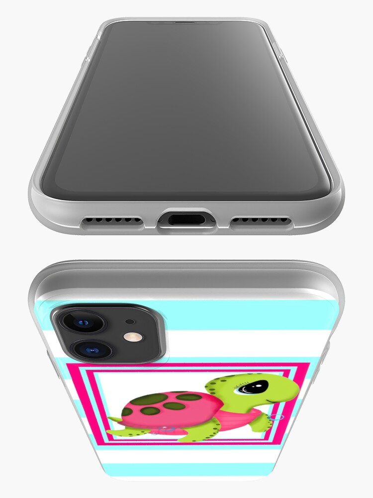 Alternate view of Cute Sea Turtle iPhone Case & Cover