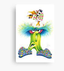 M'ODD'STER 02 - BUG'and'UGH Canvas Print