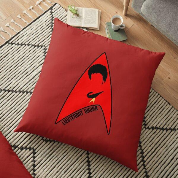 Lieutenant Uhura Floor Pillow