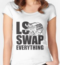 LS Swap Everthing Fitted Scoop T-Shirt
