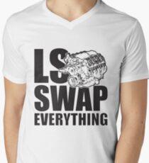 LS Swap Everthing V-Neck T-Shirt