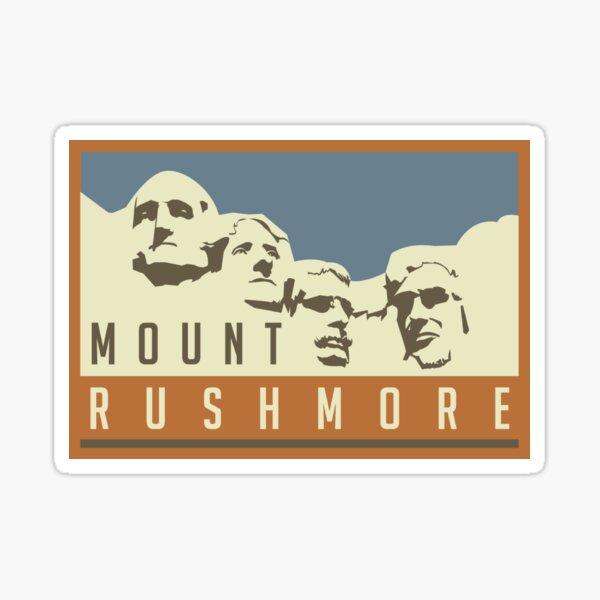 Mount Rushmore stickers! Sticker