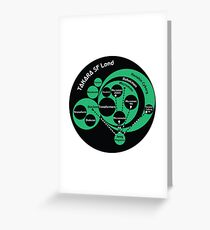 A Phylogeny of Robots: Green-Black Greeting Card