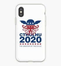 Vote Cthulhu 2020 iPhone Case