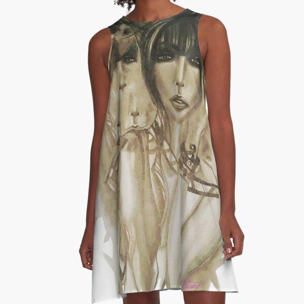 """""""Drew"""" A-Line Dress"""