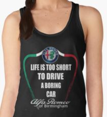 Life's Too Short - Drive Alfa Women's Tank Top