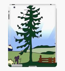 Vintage Rural Country Scene.png iPad Case/Skin