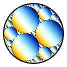 Apollonian Gasket 010 by Rupert Russell
