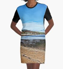Lamlash Bay. Isle of Arran. Scotland. Graphic T-Shirt Dress