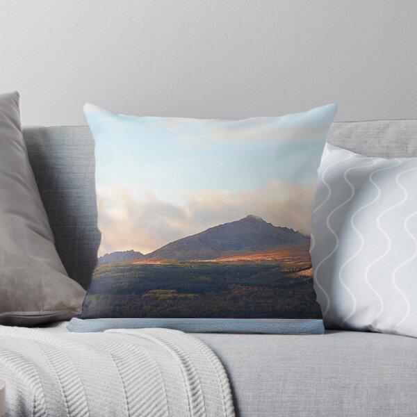 Goatfell Isle of Arran, Scotland. Throw Pillow