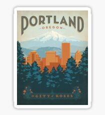 Portland, the city of roses Sticker