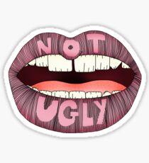 Not ugly Sticker