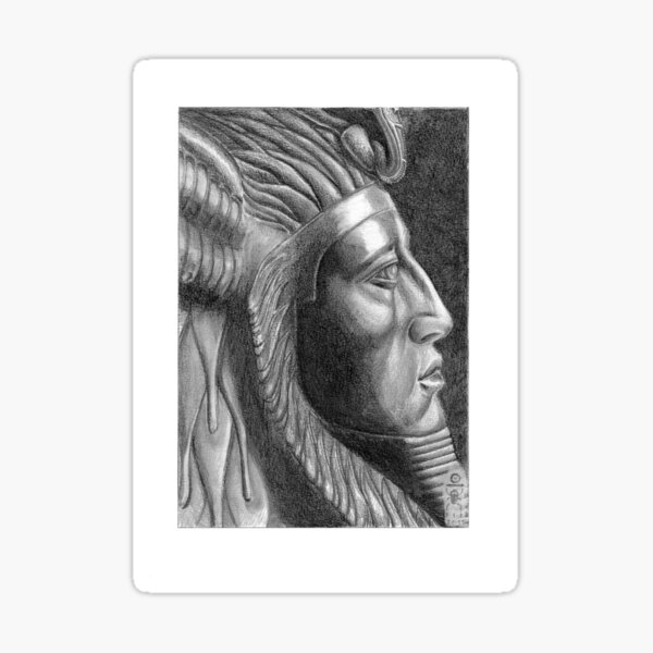 The X in SphinX: Amenemhat III Sticker