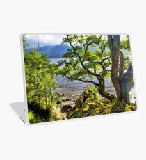 Twisted Tree, Derwent Water, Lake District Laptop Skin