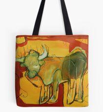 Spanish bull X Tote Bag