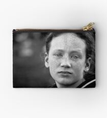 Another day, another eldest sibling worn down by her numerous brothers and sisters and wishing (if only for a day or two) she were an only child Studio Pouch