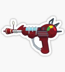 Raygun Sticker