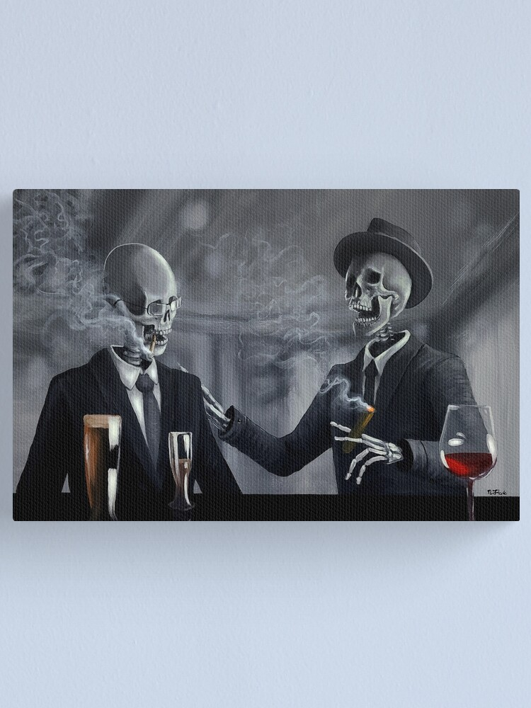 Alternate view of Last Call Canvas Print