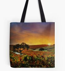 Autumn Vineyard Tote Bag