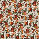 Art Supply Floral Pattern by dcrownfield